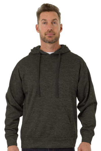 UZZI Active Dri Fit Pullover Hoodie in Grey Color